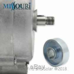 Missouri Freedom 12 Volt 1600 Watt 9 Lame Éolienne Générateur Noir Kit