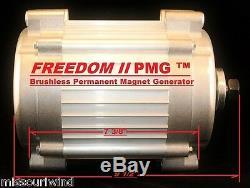 Missouri Freedom II Pmg 24 Volt Éolienne Aimant Permanent Générateur Pma