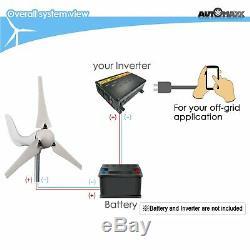 Moulin À Vent (db-400) Turbine 400w Vent 12v Kit Générateur