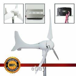 Moulin À Vent (db-600) Turbine 600w Vent 12v Kit Générateur