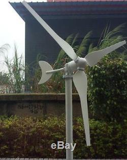 New 100w Wind Turbine Générateur Kit 24v DC 2 Phase Livraison Rapide