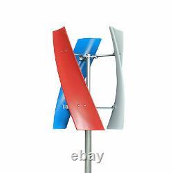 Nouveau DC 12/24v 3-blades Helix Générateur De Turbine Éolienne Axis Verticale Puissance Éolienne