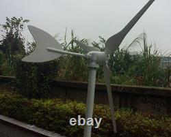 Nouveau Kit De Générateur D'éoliennes Haute Performance 50w Dc12/24v