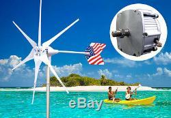 Patriot 1600 W Windzilla Pma 12v DC Éolienne Kit Générateur 6 Lame + Redresseur