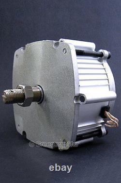 Patriot 1600 Watt Max Éolienne Générateur Pma 12 V DC Sortie 6 Blanc Lame