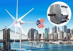 Patriot Truepower 1600w Watt Éolienne Générateur Pma 12 Volt Ac Blanc Lame