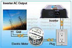 Power Grid Inverter Tie Pour Panneau Solaire Turbine Éolienne Générateur 400 W Watt