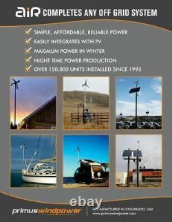 Primus Wind Power 1-arxm-15-24 Air X Éolienne Marine 24vdc
