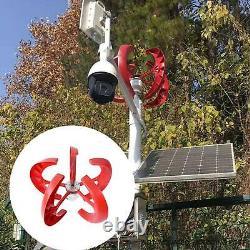 Pro 800w 12v 5 Blade Wind Turbine Générateur À Axe Vertical Énergie Propre Accueil États-unis