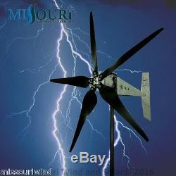 Raptor G5 5 Blade 48 Volt 2000 Watt Max Wind Turbine Du Générateur 33 Blades