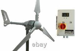 Réglage Du Générateur De Vent I-700w 24v + Contrôleur De Charge Hybride Ista-breeze