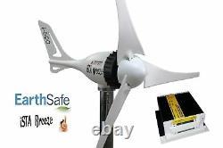 Set I-500w Générateur D'énergie Éolienne 24v + Contrôleur De Charge