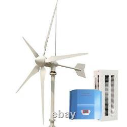 Tumo-int 3000w 5blades Éoliennes Générateur D'éoliennes Avec Contrôleur Chargeur