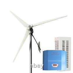 Tumo-int 5000w 3blades Bent Tail Wind Turbine Windmill With Controller (120v)