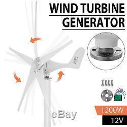 Turbine 1200w Aérogénérateur Unité DC 12v Contrôleur De Charge D'alimentation D'énergie Accueil