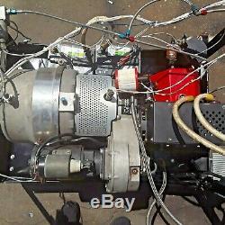 Turbine À Gaz Générateur 10 Kw 28 Volts CC 350 Ampères Grande Solaire Ou Éolienne Alimentation De Secours