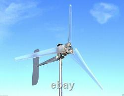 Turbine Éolienne 1685 Watt / 3 Blade Ghost 76d 24 DC 2-wire Générateur De Pma 6,3 Kwh