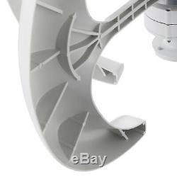 Turbine Générateur De Vent 400w 12v Withcharge Contrôleur Turbines Verticale Blanc