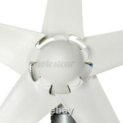 Turbine Genertor Kit 4200w 12v / 24v Wind Aerogenerator 5 Lames Avec Contrôleur