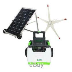 Turbine Nature Aérogénérateur Et Énergie Solaire 1800 Watt Set Portable Generator