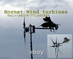 Uk 3 Lame Puissante Avenger Éolienne Générateur Imbattable ££ Et Puissance De Sortie