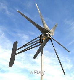 Uk 6 Turbine Éolienne Puissante Lame Avenger Générateur Invaincue ££ Et La Puissance De Sortie