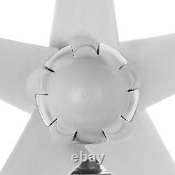 Unité De Générateur De Turbine Éolienne 1200w 5 Lames DC 12v W. Power Charge Controller USA