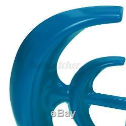 Us 12 / 24v 4200w Axe Vertical Lanterne Éolienne Générateur 4 Blades Accueil Puissance