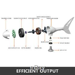 Vevor Max 400 Watt 12 V DC Éolienne Générateur 3 Lame + Contrôleur De Charge