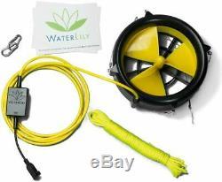 Waterlily Portable Usb Eolien Water Power Chargeur Générateur Marque Nouveau