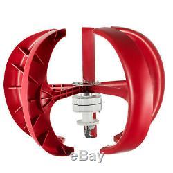 Wind Turbine Générateur 400w 12v Withcharge Contrôleur D'énergie Éolienne À Axe Vertical