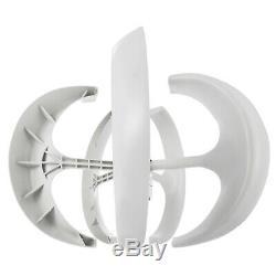 Wind Turbine Générateur 600w 12v Withcharge Contrôleur D'énergie Éolienne Éolienne À Axe Vertical