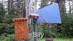 Wind Turbine Voyage Générateur II Avec Batterie