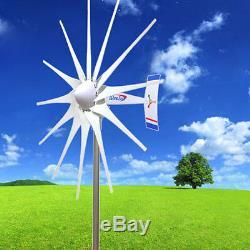Windzilla 12v Ac Max 3200 W 12 Pma Blades Éolienne Générateur + Bague + Hub