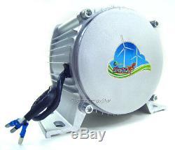 Windzilla Max 2000w 24vdc Aimant Permanent Alternateur Éolienne Générateur Pma