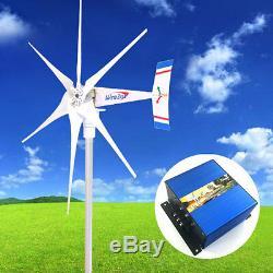 Windzilla Pma 12 V 1800 W Ac 6 Lame Éolienne Générateur + Contrôleur De Charge