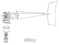 Windzilla Pma 12 V Ac Max 3200 W 12 Turbine Lame Aérogénérateur + 2 Roulements
